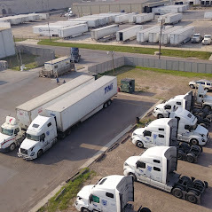Laredo overhead view of parking lot