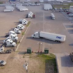 Laredo overhead view of parking